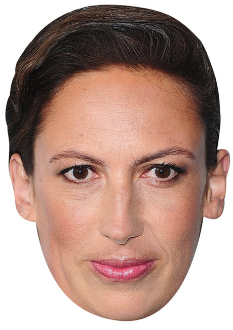 MIRANDA HART JB - Funny Comedian Fancy Dress Cardboard Celebrity Party mask