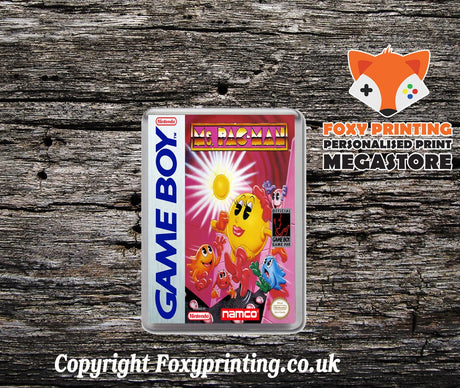 Mr Chins Gourmet Paradise Retro Gaming Magnet