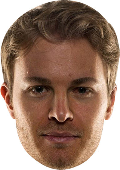 NICO ROSBERG Celebrity Face Mask FANCY DRESS HEN BIRTHDAY PARTY FUN STAG DO HEN
