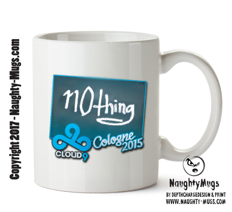 Nothing Signature CSGO - Gaming Mugs