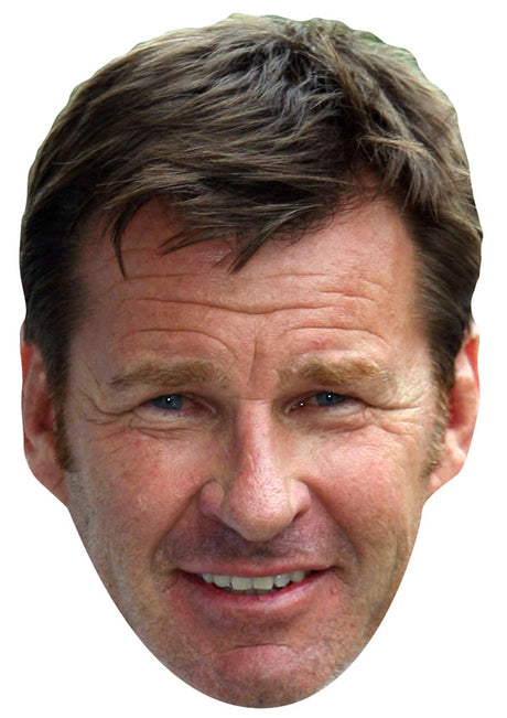 NICK FALDO JB - Golf Fancy Dress Cardboard Celebrity Party Stag Birthday Idea Fancy Dress Face mask