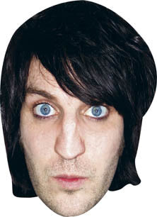 Noel Fielding Celebrity Comedian Face Mask FANCY DRESS BIRTHDAY PARTY FUN STAG HEN