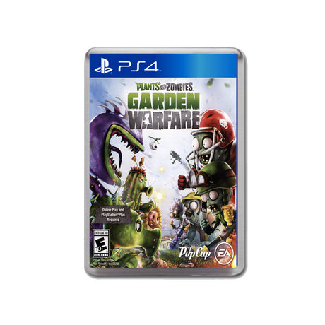 Plants Vs Zombies Garden Warfare Ps4 Game Inspired Retro Gaming Magnet