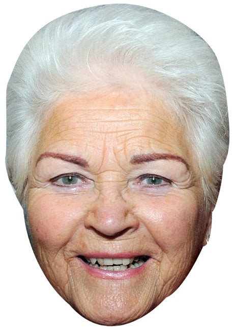 PAM ST. CLEMENT JB - Eastenders Actor Fancy Dress Cardboard Celebrity Party mask