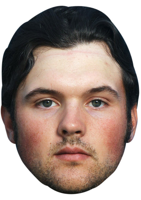 PATRICK REED JB - Golf Fancy Dress Cardboard Celebrity Party Stag Birthday Idea Fancy Dress Face mask