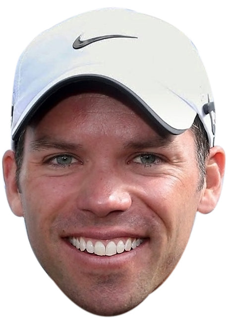 PAULCASEY JB - Golf Fancy Dress Cardboard Celebrity Party Stag Birthday Idea Fancy Dress Face mask