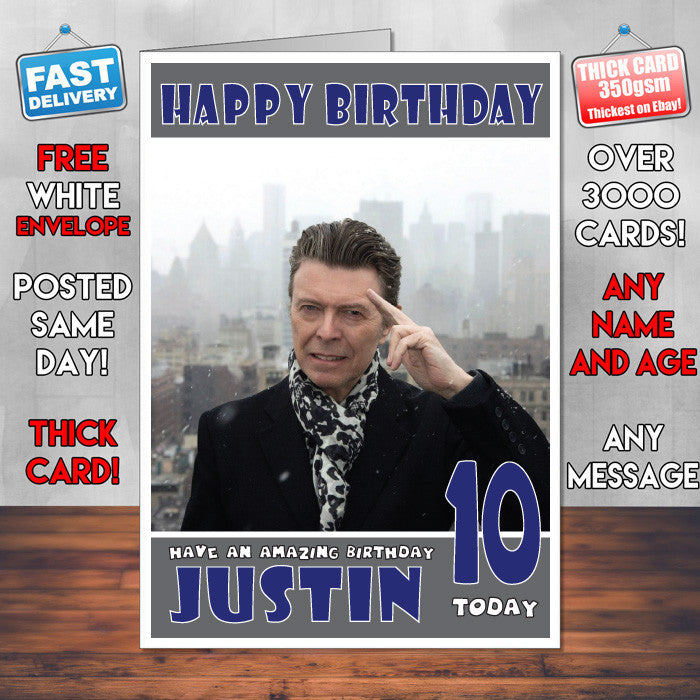 Personalised david bowie celebrity inspired style birthday card sa personalised david bowie celebrity inspired style birthday card sa bookmarktalkfo Image collections