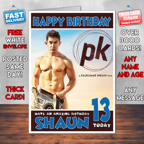MOVIE CARDS – Bollywood Birthday Card