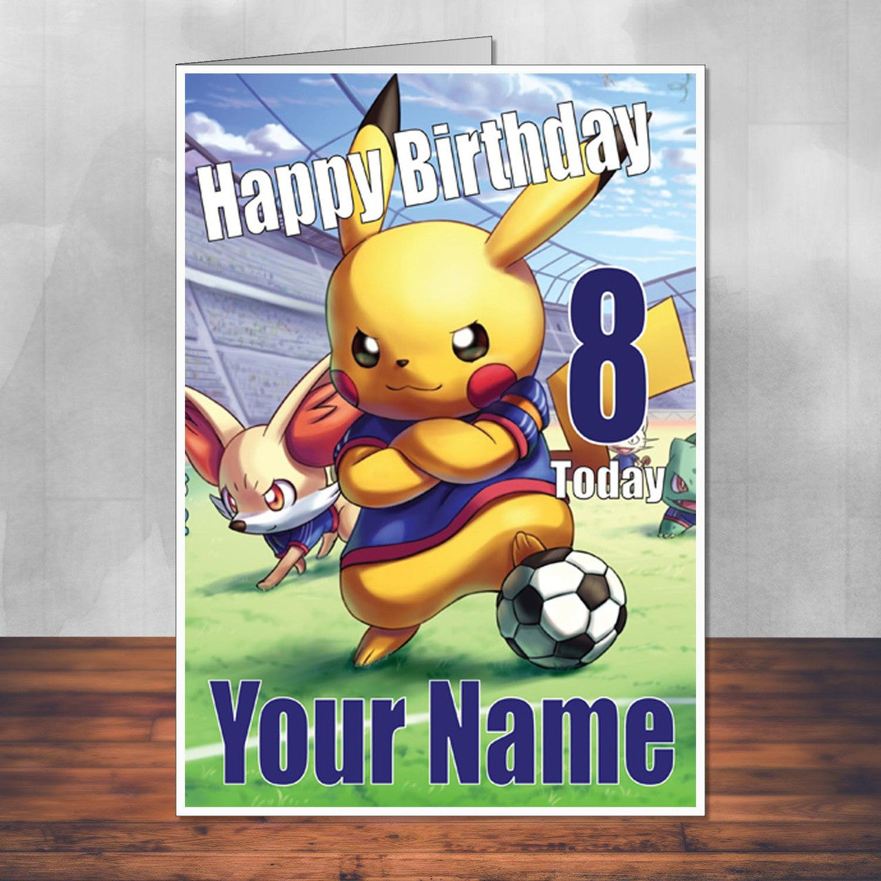 Gaming Cards Foxy Printing Personalised Prints Birthday Cards