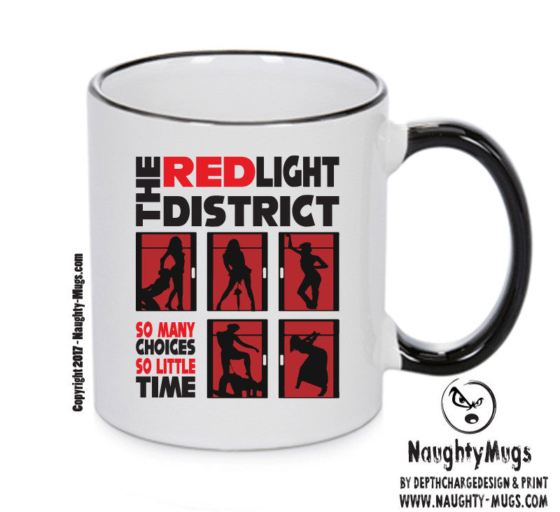 Red Light District Funny Mug Adult Mug Gift Office Mug Funny Humour