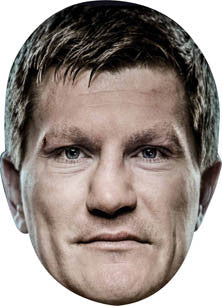 Ricky Hatton BOXER Celebrity Face Mask FANCY DRESS HEN BIRTHDAY PARTY FUN STAG DO HEN