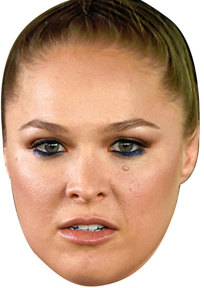Ronda Rousey UFC Fighter SPORTS Celebrity Face Mask FANCY DRESS HEN BIRTHDAY PARTY FUN STAG DO HEN