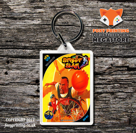 STREET SLAM NEO GEO CD Game Inspired Retro Gaming Keyring