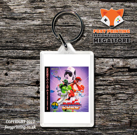 SUPER BASEBALL NEO GEO CD Game Inspired Retro Gaming Keyring