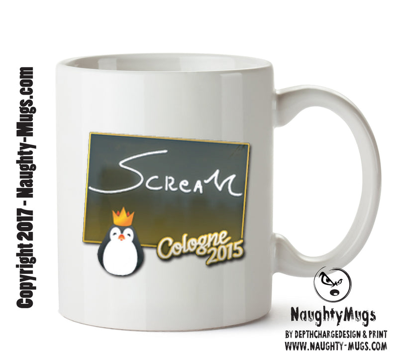 Scream Signature CSGO - Gaming Mugs
