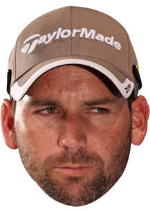 Sergio Garcia GOLF 2018 Celebrity Face Mask FANCY DRESS HEN BIRTHDAY PARTY FUN STAG DO HEN