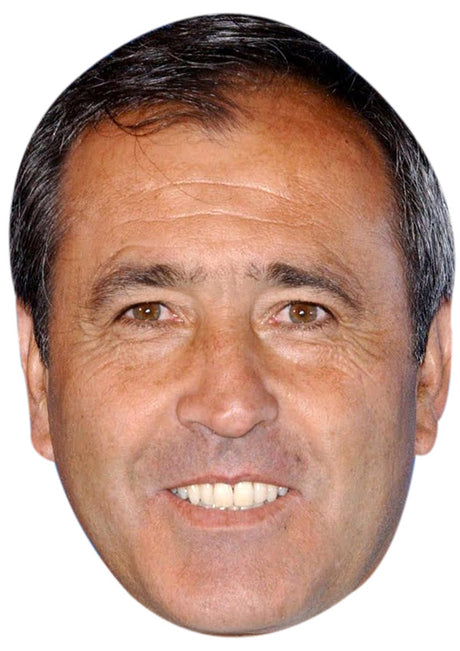 SEVE BALLESTEROS JB - Golf Fancy Dress Cardboard Celebrity Party Stag Birthday Idea Fancy Dress Face mask