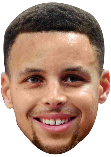 STEPHEN CURRY JB - Basketball Star Fancy Dress Cardboard Celebrity Party Stag Birthday Idea Fancy Dress Face mask