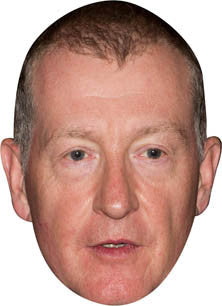 Steve Davis SNOOKER Celebrity Face Mask FANCY DRESS HEN BIRTHDAY PARTY FUN STAG DO HEN