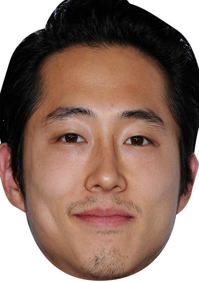 Steven Yeun Walking Dead 2018 Celebrity Face Mask FANCY DRESS HEN BIRTHDAY PARTY FUN STAG DO HEN