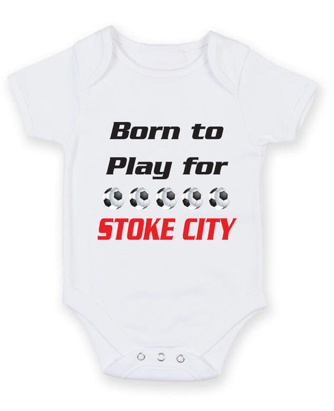 for Football Soccer Fans Baby Vests Bodysuits Born to Play for Coventry City