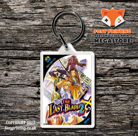 THE LAST BLADE 2 NEO GEO CD Game Inspired Retro Gaming Keyring