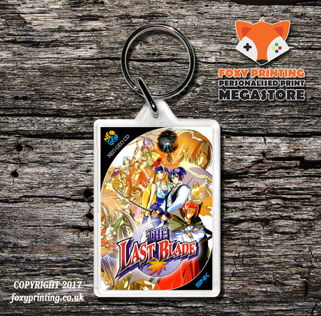 THE LAST BLADE NEO GEO CD Game Inspired Retro Gaming Keyring