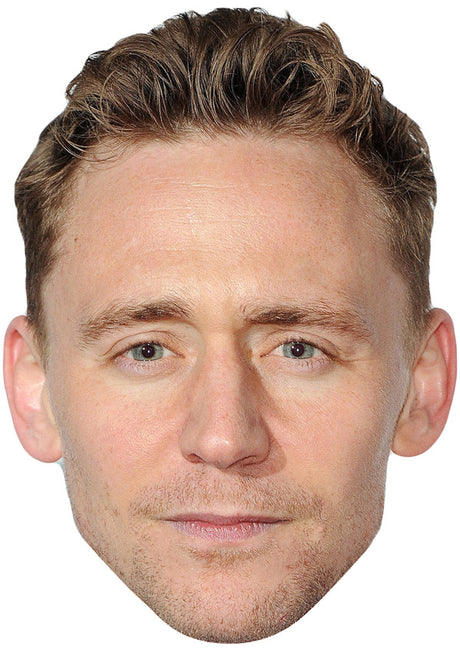 TOM HIDDLESTON MASK JB Actor Movie Tv Celebrity Party Stag Birthday Idea Fancy Dress Face mask