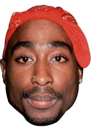 TUPAC SHAKUR MASK JB Actor Movie Tv Celebrity Party Stag Birthday Idea Fancy Dress Face mask