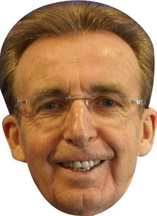 Terry Griffiths SNOOKER Celebrity Face Mask FANCY DRESS HEN BIRTHDAY PARTY FUN STAG DO HEN