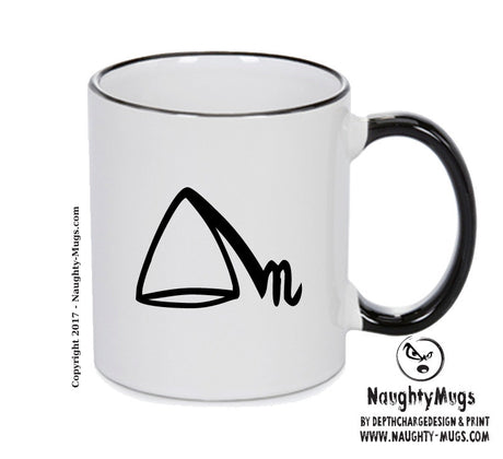 To Distill Black Handle Alchemy Mug GOTHIC GOTH HORROR STARS HORROSCOPE BLACK MAGIC MUG