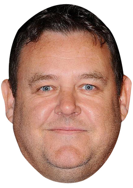 Tony Maudsley JB Actor Movie Tv Celebrity Party Stag Birthday Idea Fancy Dress Face mask