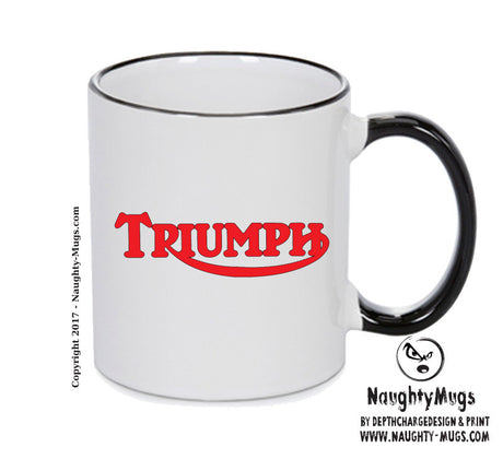 Triumphred Printed Mug
