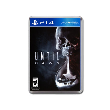 Until Dawn Ps4 Game Inspired Retro Gaming Magnet
