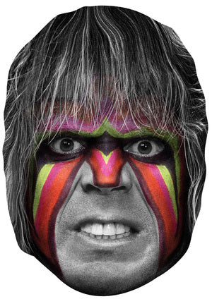 Ultimate Warrior 2 JB Actor Movie Tv Celebrity Party Stag Birthday Idea Fancy Dress Face mask