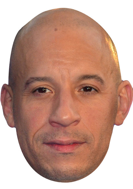 VIN DIESEL JB Actor Movie Tv Celebrity Party Stag Birthday Idea Fancy Dress Face mask