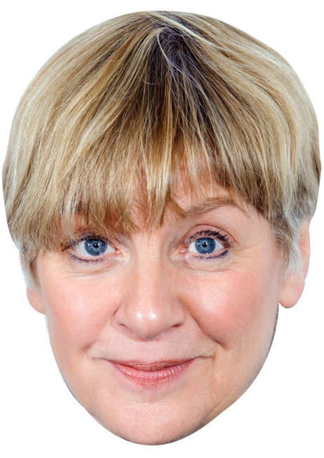 VICTORIA WOOD JB - Funny Comedian Fancy Dress Cardboard Celebrity Party mask