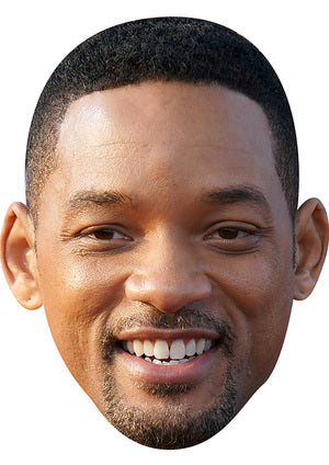 WILL SMITH MASK JB Actor Movie Tv Celebrity Party Stag Birthday Idea Fancy Dress Face mask