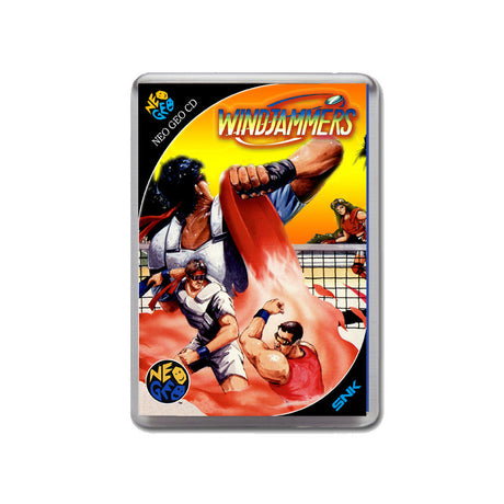 Windjammers Neo Geo Cd Game Inspired Retro Gaming Magnet