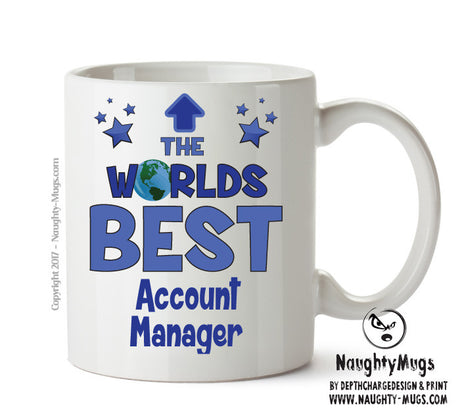 Personalised FUNNY OCCUPATION OFFICE MUG - Worlds Best Account Manager