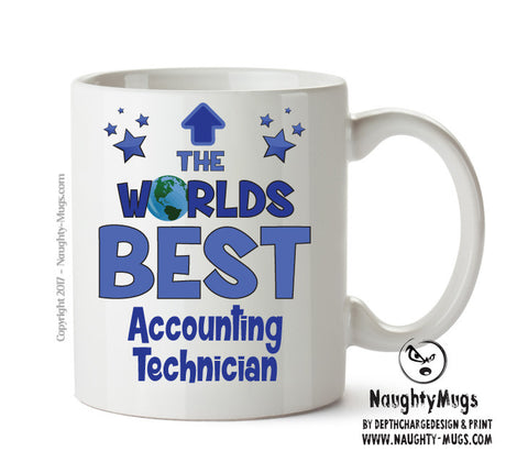 Personalised FUNNY OCCUPATION OFFICE MUG - Worlds Best Accounting Technician