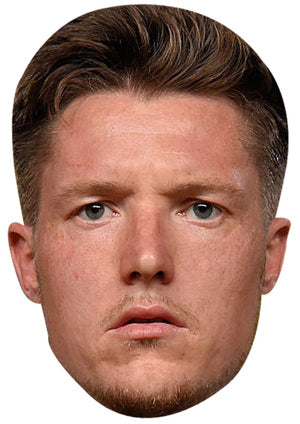 Wayne Hennessey Mask (Wales) JB Actor Movie Tv Celebrity Party Stag Birthday Idea Fancy Dress Face mask