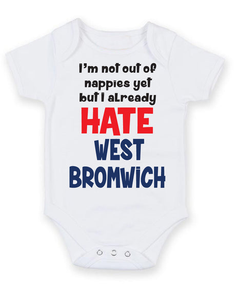 DERBY COUNTY Football Personalised Baby Bodysuit Vest