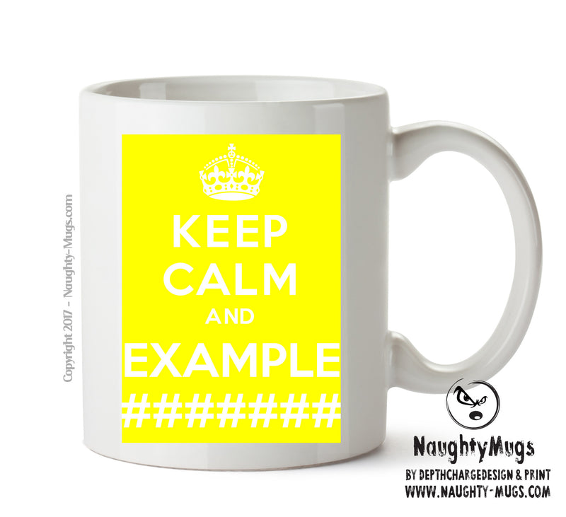 KEEP CALM AND BE UNIQUE Mug