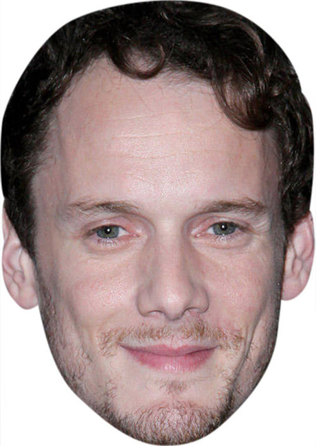 Anton Yelchin MH 2017 Celebrity Face Mask FANCY DRESS HEN BIRTHDAY PARTY FUN STAG DO HEN