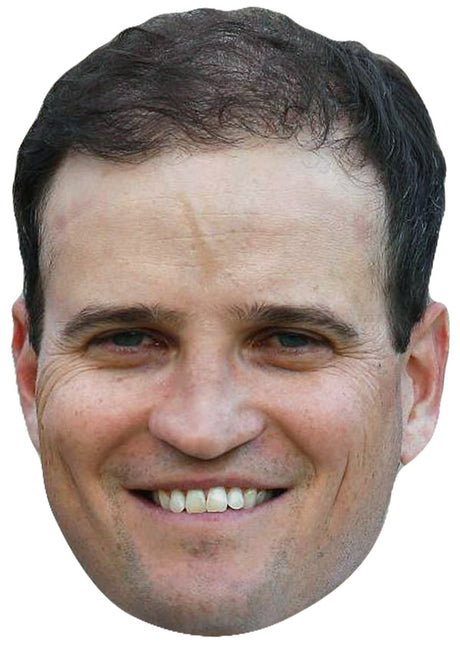 ZACH JOHNSON JB - Golf Fancy Dress Cardboard Celebrity Party Stag Birthday Idea Fancy Dress Face mask