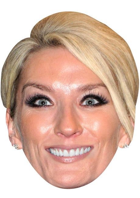 Zoe Lucker JB Actor Movie Tv Celebrity Party Stag Birthday Idea Fancy Dress Face mask