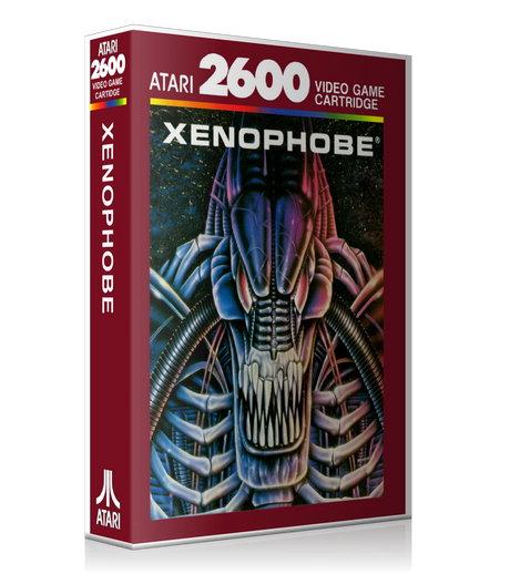 Xenophobe None Atari 2600 Game Cover To Fit A UGC Style Replacement Game Case