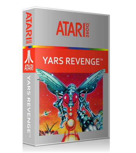 Yars Revenge 2 Atari 2600 Game Cover To Fit A UGC Style Replacement Game Case