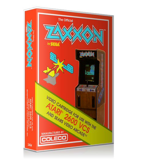 Zaxxon Atari 2600 Game Cover To Fit A UGC Style Replacement Game Case